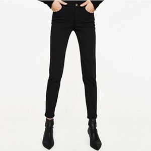 Zara Basic Z1975 Denim Black Skinny